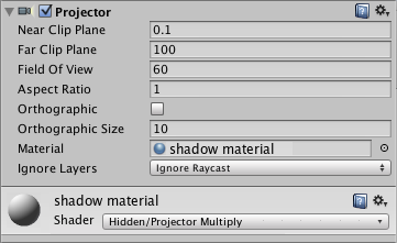 Unity 3d game engine texture projector | hindi part_13 youtube.