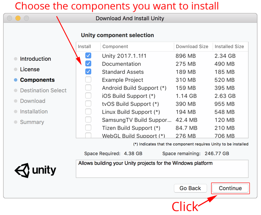 Unity - Manual: Downloading and installing Unity