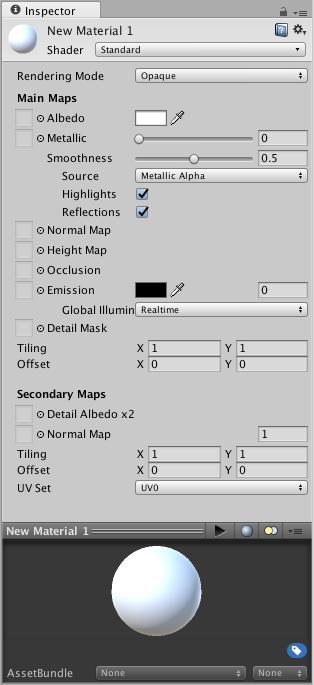 Unity - Manual: Creating and Using Materials