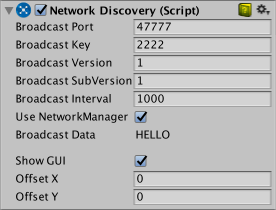 Unity - Manual: Local Discovery