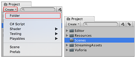 Unity - Manual: Setting up your Project for Vuforia