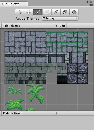 Unity - Manual: Tilemap Palette
