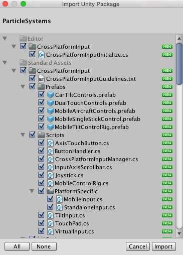 Unity - Manual: Asset packages