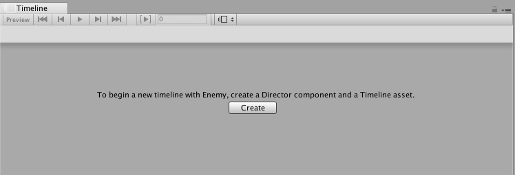 Unity - Manual: Creating a Timeline Asset and Timeline instance