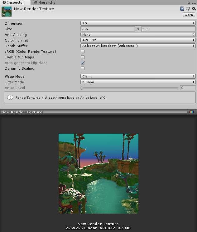 Unity - Manual: Render Texture
