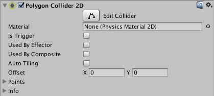 Unity - Manual: Polygon Collider 2D