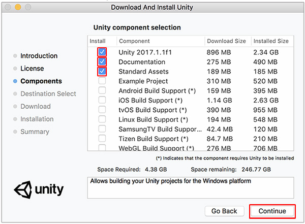 Unity - Manual: Installing Unity without the hub