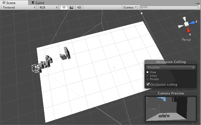 Unity - Occlusion Culling (Pro only)