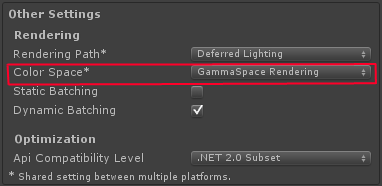 Unity - Manual: Linear Lighting (Pro Only)