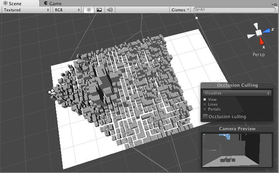 Unity - Manual: Occlusion Culling (Pro only)