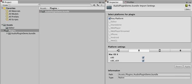 Unity - Manual: Native Audio Plugin SDK