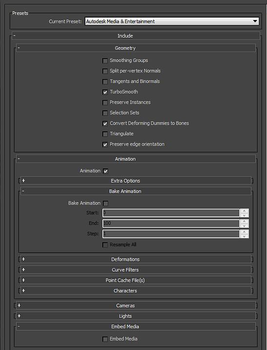 Unity - Manual: FBX export guide