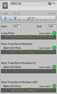 Unity - Manual: Looping animation clips