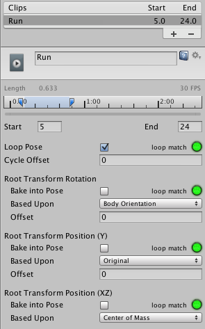 Unity - Manual: Tutorial: Scripting Root Motion for