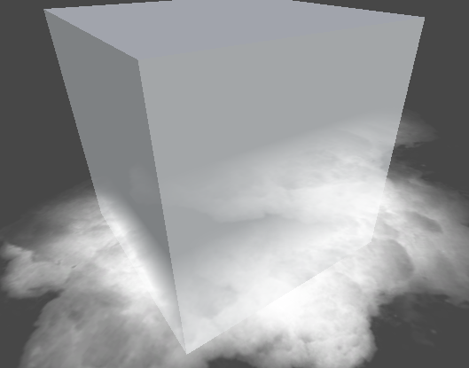 With Soft Particles - intersections fade out smoothly.