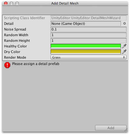 Unity - Manual: Grass and Other Details