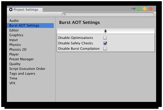 Burst User Guide | Package Manager UI website
