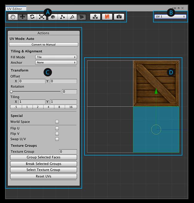 UV Editor window | Package Manager UI website