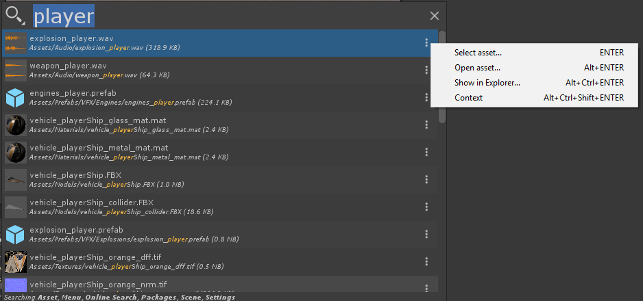 Search Providers   Package Manager UI website