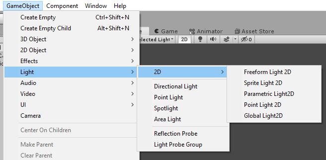 2D Lights Properties | Package Manager UI website