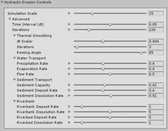 Hydraulic Erosion | Package Manager UI website
