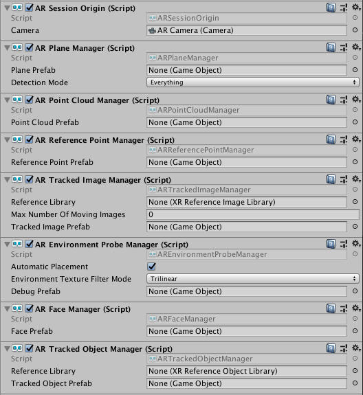 Trackable Managers | Package Manager UI website