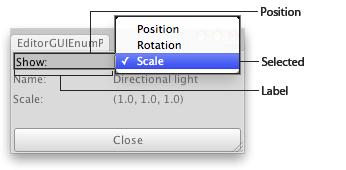 Unity - Scripting API: EditorGUI EnumPopup