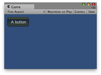 Unity Scripting Api Gui Backgroundcolor - yellow background color applied to a button