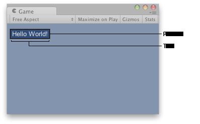 Unity - Scripting API: GUI Label