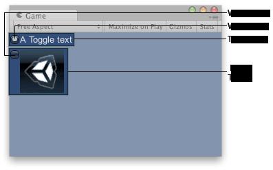 Unity - Scripting API: GUILayout Toggle