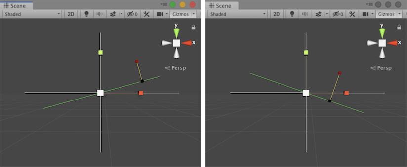 Unity - Scripting API: Vector3 ProjectOnPlane