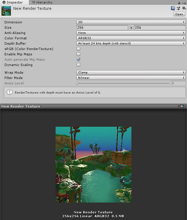 Render Texture - Unity Manual