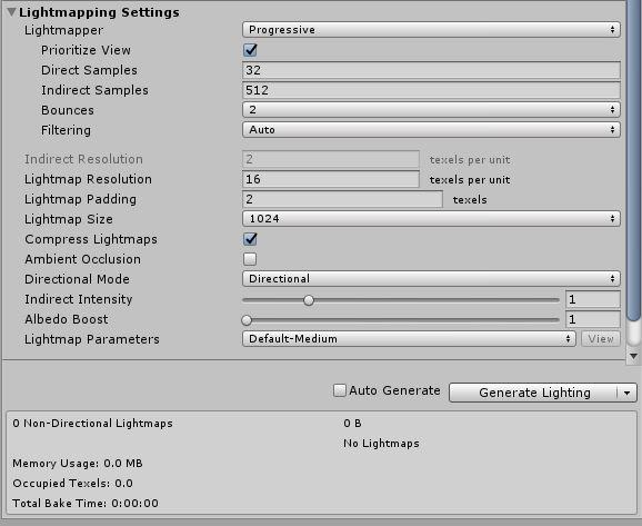 Lightmapping: Getting started - Unity Manual