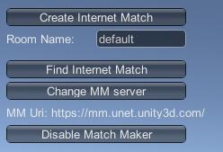マッチメーカーモードの Network Manager HUD