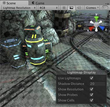 Unity - マニュアル: ライトマッピング詳細
