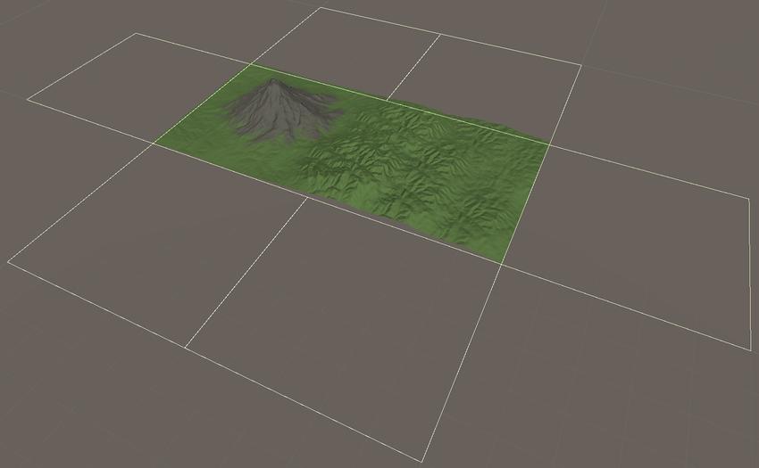 Unity - Manual: Create Neighbor Terrains