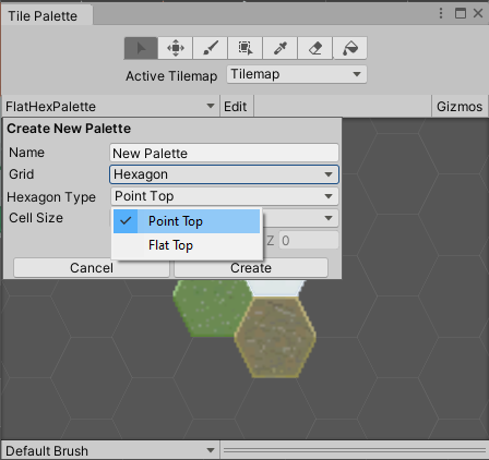 Unity - Manual: Hexagonal Tilemaps