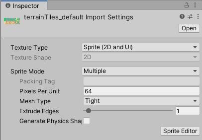Unity - Manual: Importing and preparing Sprites