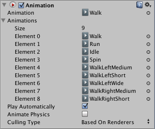 The Animation Inspector