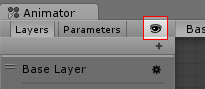 The Layers & Parameters hide icon