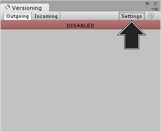 The Versioning tab