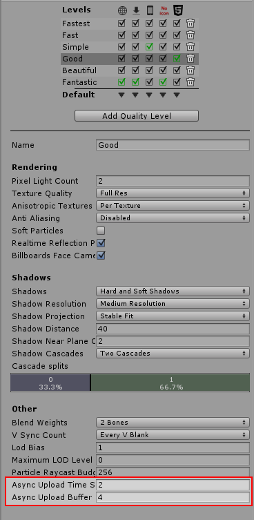 Unity - Manual: Asynchronous Texture Upload