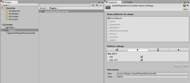 Unity - Manual: Native Audio Plugin SDK