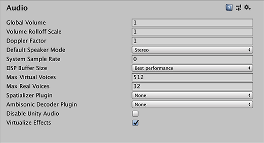 Unity - Manual: Audio
