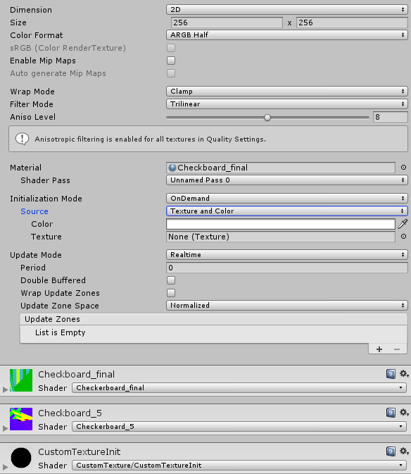 Unity - Manual: Custom Render Textures