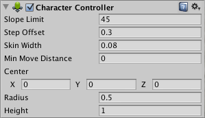 Unity - Manual: Character Controller
