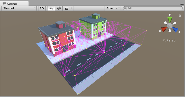 Unity - Manual: Light Probes for moving objects