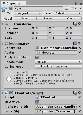 Unity - Manual: Inverse Kinematics