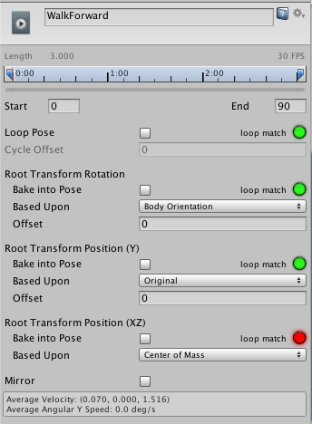Unity - Manual: Root Motion - how it works