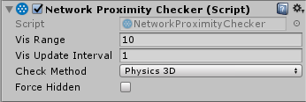 The Network Proximity Checker component